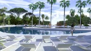 Location Mobil Homes Grimaud Saint Tropez Var et Port Grimaud pour les vacances Espace aquatique